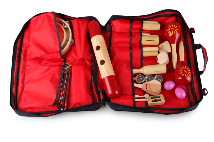 Kid musical instrument gift,wood music gift set LT21