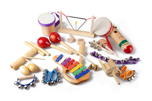 musical percussion set