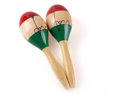wood maracas for adults musical instruments from China