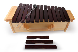professional musical instrument bass xylophone 16-notes xylophone