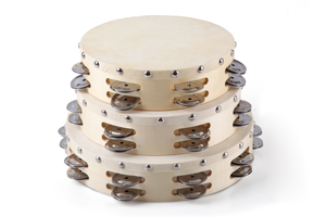 Wooden tunable hand tambourine percussion drum,music tambourine