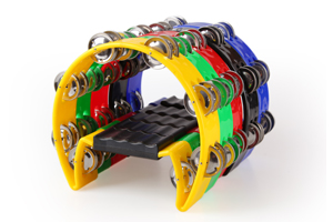 KTV plastic tambourine,popular musical noise maker instruments