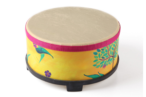 Kids Percussion Floor Drum Wooden Musical instrument drum
