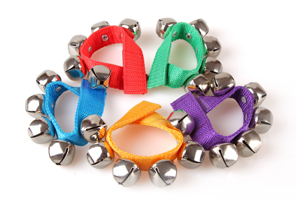 Hot sale colorful kid bells,kid ankle bell N11-5B