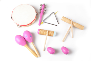 Hot sale percussion instrument set for baby