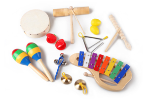 Orff percussion musical instrument set from China
