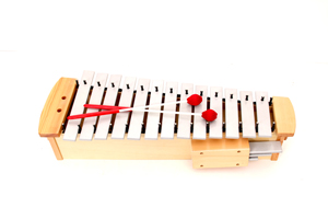 Orff Diatonic Alto Glockenspiel with Mallets Made in China
