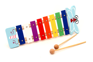 Rainbow animal xylophone kid piano TH8C-3