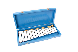15 notes glockenspiel xylophone with box TL15