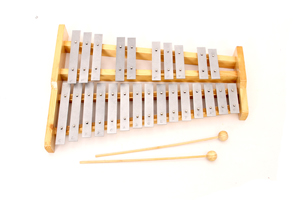 Christmas musical toys wood box xylophone for sale