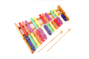 High quality rainbow keys music toy xylophone