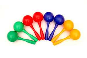 Musical Toy Small Plastic Maracas