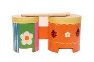 Instrument music manufacture exporting bongo drum