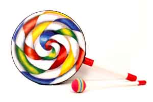 Look like lollipop,lollipop drum