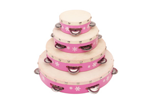 factory sale educational tambourine toy