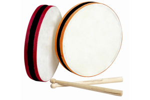 Customized size musical instrument kid drum