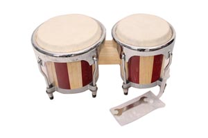 Handmade wood drum,bongo drum set YHB-1
