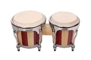 musical instruments drum sets mini wooden bongo drums