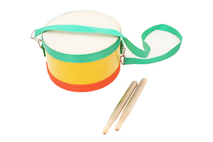 Musical instrument marching hang snare drum for children