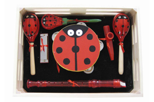 hot selling kids musical instrument percussion gift set box