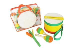Baby music toy set,orff instrument music bag YHLT3A
