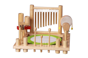 Wholesale music instrument,wood child gift set ZHT