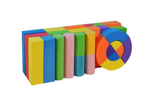 Foam Material and Construction Toy,DIY Toy,Educational Toy Style high quality foam building block